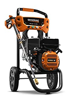 Generac 8874 2900 PSI 2.4 GPM Pressure Washer Orange Black