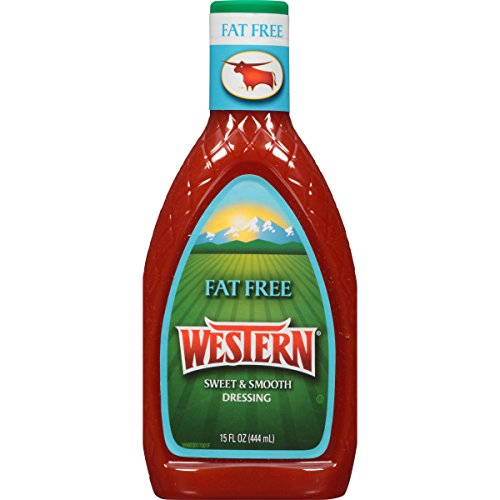 Western Sweet and Smooth French Fat Free Salad Dressing, 15 fl. oz.