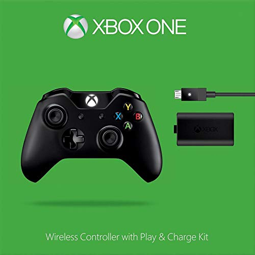 Xbox One Wireless Controller - Play & Charge Kit