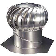 """Measures 12"""" Includes lifetime manufacturer's warranty Base adjusts to 12/12 roof Pitch Reduces energy bill"""