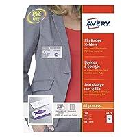 Avery ピンバッジ 40 x 75mm