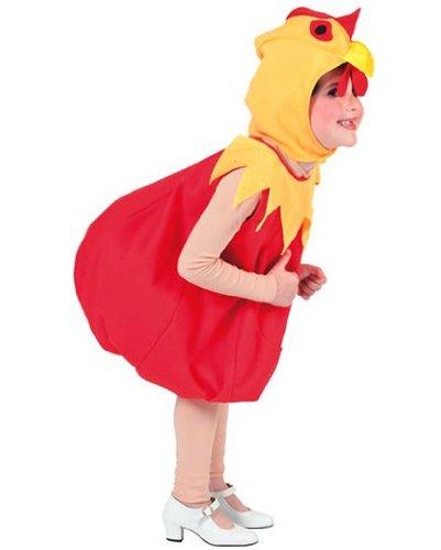 Disfraz de gallina niña - De 2 a 4 años: Amazon.es: Juguetes y juegos