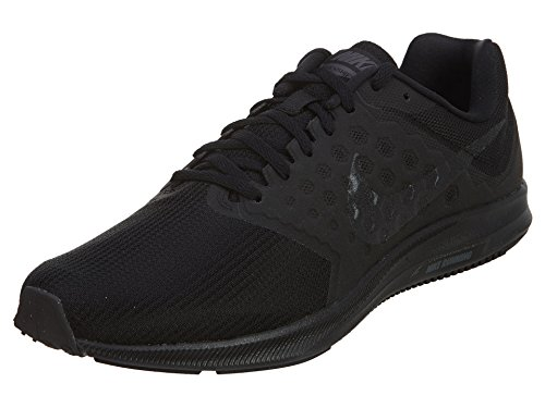 Nike Downshifter 7, Men's Running, Black (Black / Metallic Hematite / Anthracite), 7 UK