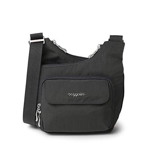 Baggallini Criss Cross, Charcoal, One Size