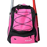 EALER Baseballschläger-Tasche – Rucksack für Baseball, T-Ball & Softball-Ausrüstung für...