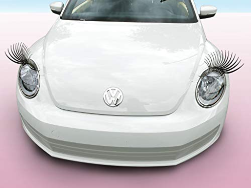 Carlashes for Beetle (2012-present) - Classic Black 3D Car Eyelashes