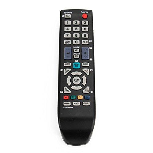 VINABTY AA59-00496A Mando a Distancia Compatible con Samsung LA19D400E1M LE40D504F7W PS51D530A5 LE-32D400 LE-32D403 LE-40D503 UE-19D4003 UE-22D4003 UE-26D4003 UE-32D4003