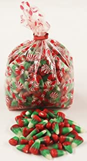 Scott's Cakes Reindeer Corn in a 8 oz. Candy Cane Bag