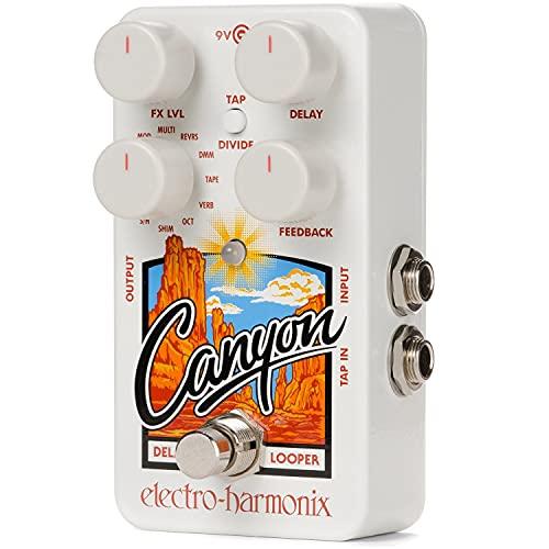Electro Harmonix Canyon Delay and Looper,White,