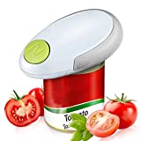 Rosydream Electric Can Opener, Mini Restaurant Can Opener, Smooth Edge Electric Can Opener