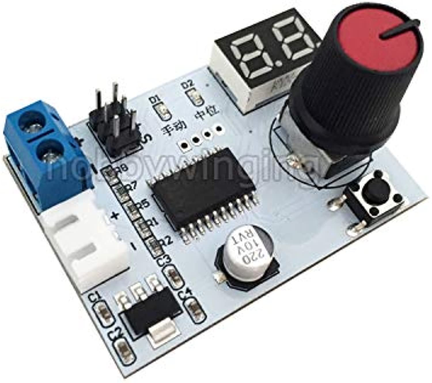 Generic Servo Tester and Voltage Display 2 in 1 Servo Controller DIY for RC Car Robot