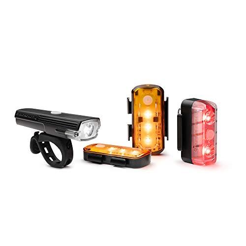 Blackburn Luminate 360 Licht-Set, schwarz, Einheitsgröße
