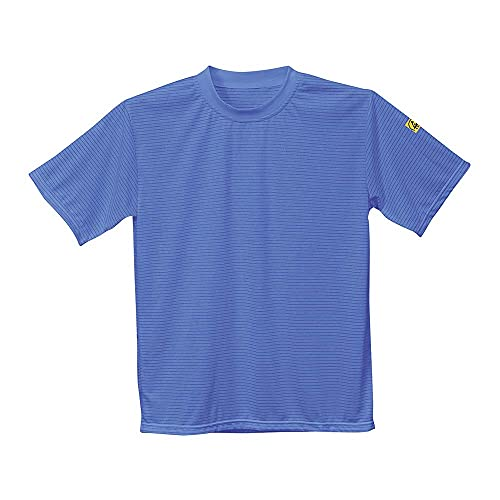 Portwest PORTWEST antistatik, ESD T-Shirt, 1 Stück, S, Hellblau, AS20HBRS