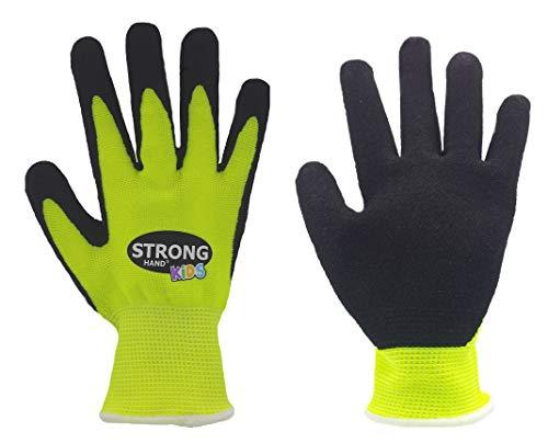 HandschuhMan. Gartenhandschuhe Arbeitshandschuhe für Kinder von StrongHand Little Ferry Größe 3,4 oder 5 (5 (ca. 8-10 Jahre))