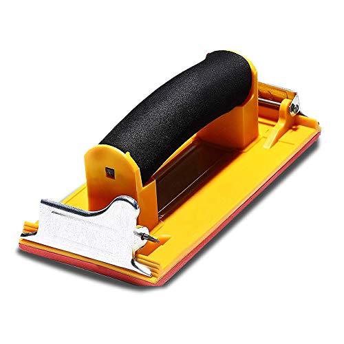 ハンドサンダー DIY 工具 サンドペーパー ヤスリ ホルダー 紙やすり 木材 塗装 加工 便利 女性 簡単 棚作り 椅子