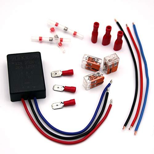 Softstart Modul 230V inklusive umfangreichen Installationszubehör Sanftanlauf Anlaufstrombegrenzer