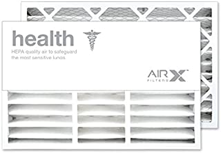 AIRx Filters Health 16x25x5 Air Filter MERV 13 Replacement for Lennox X0583 X6670 X6672 HCF160 HCF-16-11 to Fit Media Air Cleaner Cabinet Lennox Healthy Climate HCC16-28, 2-Pack