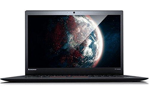 Lenovo X1 Carbon Broadwell 20BS00AAGE 35,5 cm (14 Zoll) Laptop (Intel core i7 5500U, 8GB RAM, 256GB HDD, Win 7 Pro) schwarz