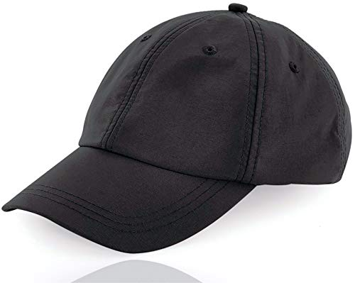 TK Gruppe Timo Klingler 1x Baseballcap - nachhaltig produziert - Schwarze Kappe Schildmütze - Cap für Herren & Damen - Basecap Kappe Cappy Black (1x Stück)