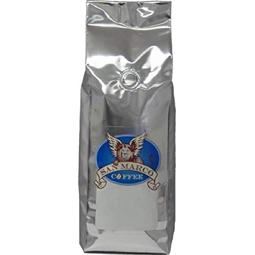 San Marco Coffee Flavored Whole Bean Coffee, Egg Nog, 1 Pound