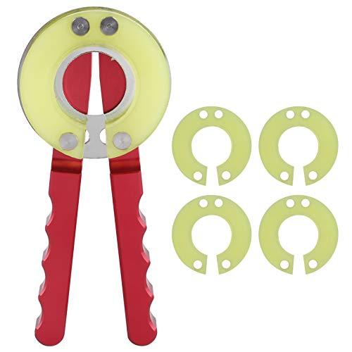 Surebuy Kit de Herramientas de reparación de Relojes Herramientas de reparación de Relojes Abridor de Anillo de Bisel de Reloj Kit de reparación de relojero Herramienta de extracción de abridor de