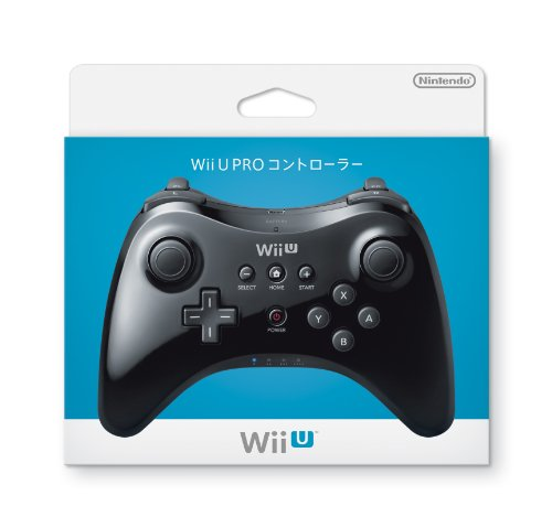 Nintendo Wii U Pro U Controller (Japanese Version), Black