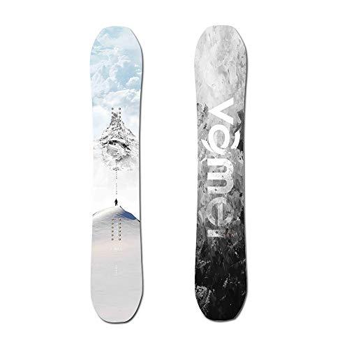 Hignful Tabla De Snowboard para Hombre Tablas De Freeride Invierno Al Aire Libre Snowboarding Versión Pro para Principiantes Tabla Snowboard Mujer/Chica/Niño Dureza del Panel UV 4,5,162cm