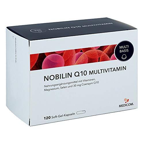 Nobilin Q10 Multivitamin, 120 St. Kapseln