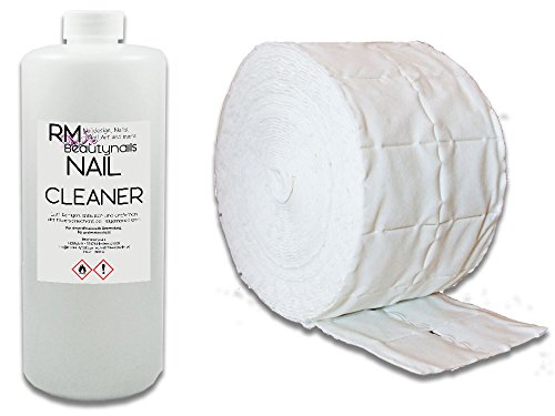 1000ml Nagel Cleaner Sparset - 500 Zelletten für Nageldesign