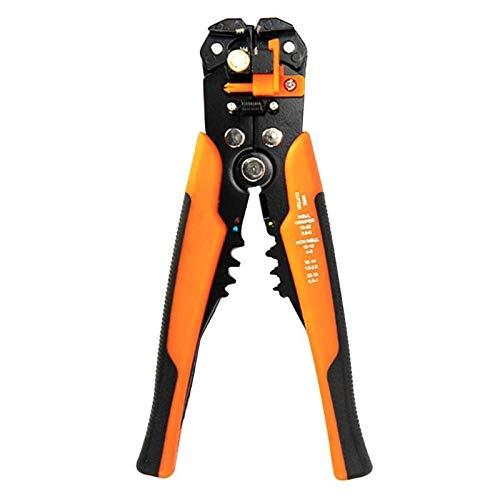 U/D Pimbuster Abisolierzange Alicate Descascador Kabelschneider Crimper Wire Zange JX1301 automatische TAB Krimpanschluss Stripping-Zangen-Werkzeuge (Color : Orange)
