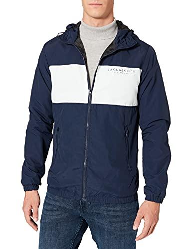 Jack & Jones JJWELLS Light Jacket Veste, Blazer Bleu Marine, XXL Homme