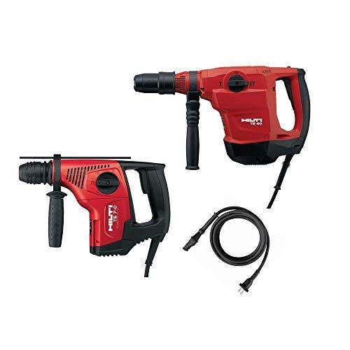 Hilti 2-Tool Pack TE 60 AVR SDS Max Hammer Drill/Chipping Hammer and TE 7 C SDS Plus Hammer Drill/Chipping Hammer