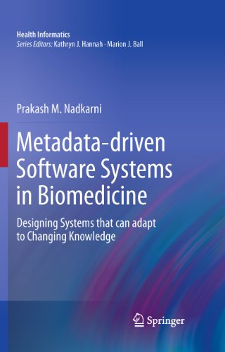 Metadata-driven Software Systems in Biomedicine: Designing Systems that can adapt to Changing Knowle