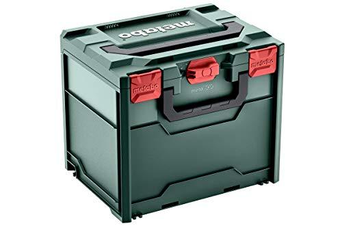 Metabo Werkzeugkoffer leer Metabox 340 (Koffer aus ABS, ohne Werkzeug, stapelbar, robust und bruchsicher, 396x296x340 mm, Volumen 31 l) 626888000
