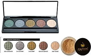 Bundle 2 Items:Mica Beauty Mineral Pressed Eye Shadow Palette