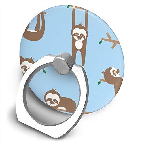 Fighwy Lazy Sloths Support Universel pour téléphone Portable avec Support Rotatif à 360° pour iPhone, iPad, Samsung, HTC, Google Pixel, Nokia, LG
