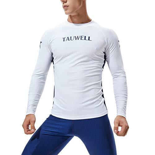 Cheapest Prices! Traje De Baño para Hombre De Manga Larga Uv50 + Protección Camisetas De Secado RÃ...