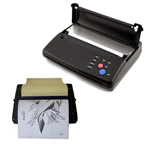 Tattoo Transfer Maschine, Thermo Thermal Tattoo Kopierer Drucker, A4 Thermischen Tätowierung Stencil Thermodrucker