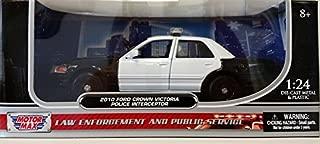 Motormax 1:24 2010 Ford Crown Victoria Police Interceptor