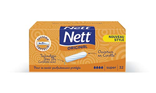 Nett Original Tampon Digital Super boîte x 32