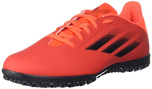 adidas X SPEEDFLOW.4 TF, Scarpe da Ginnastica Unisex-Adulto, Rosso (Negbás Rojsol), 45 1/3 EU