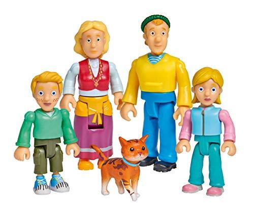 Simba 109251078 Feuerwehrmann Sam Familie Jones Figurenset