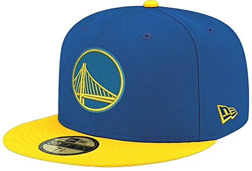 New Era Golden State Warriors NBA 2 Tone OTC Cap 59fifty 5950 Fitted Limited Edition