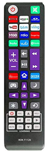 New Universal Remote fit for All Roku TV(JVC/RCA/Philips/Element/LG/TCL),Bose Wave I/II/III/IV and Apple 1/2/3 Generations. Buy it now for 12.89