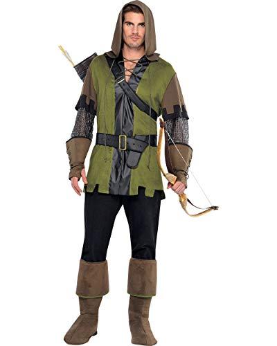 Amscan - Costume da Robin Hood il principe dei ladri, Uomo, M/L