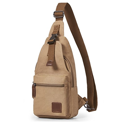 Canvas Borstzak Mannen Schoudertas Kleine Cross-body Bag Cross-Wallet Toerisme en Vrije tijd Messenger Bag Man Bag