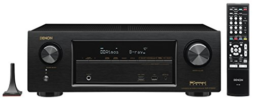 Denon AVR-X1300W-R 7.2 Channel Full 4K Ultra HD AV Receiver with Bluetooth (Renewed)
