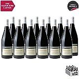 Mercurey Le Clos des Corvées MAGNUM Rouge 2017 - Château d'Etroyes - Vin AOC Rouge de Bourgogne - Cépage Pinot Noir - Lot de 12x150cl