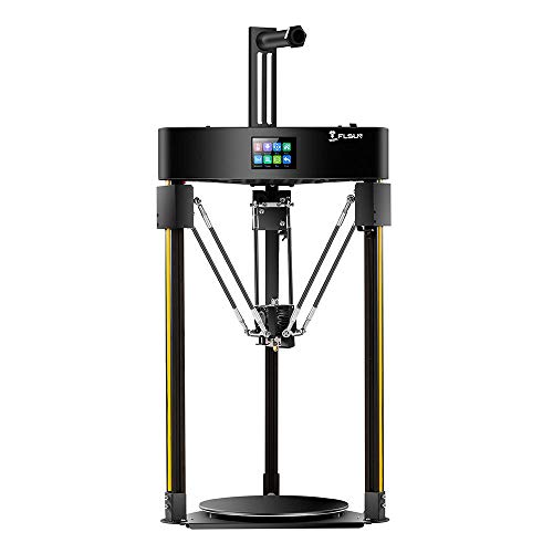 FLSUN Q5 Delta 3D Printer with auto-Leveling system,Touch Screen,200x200mm Printing Size
