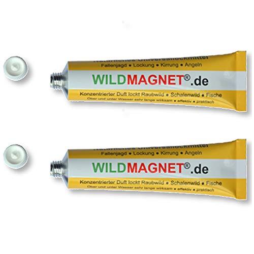 WILDMAGNET® nat. Universallockmittel 2x 30 g Jagd Wildfotografie Wildlockmittel
